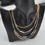 VAGULA 2015 Fashion Decorative Pipe Necklace for Women