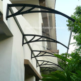 Strong Wind Resistant Plastic Roofing for Outdoor Polycarbonate Canopy Material