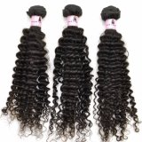 100% Deep Curly Virgin Indian Human Hair Extensions