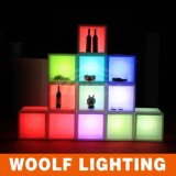 LED Light Wine Cabinet with Rechagable Battery