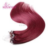Wholesales Stock Cambodian Hair Micro Ring Hair Extension 530# Color