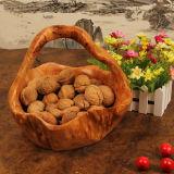 Exquisite Carving Handicrafts Wooden Bamboo Handicrafts Fruit Basket