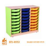 Indoor Children Cabinet&Kids Furniture with Plastic Storage