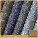 Hot Sale Popular Glitter PU Artificial Leather (SP003)