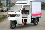 China Manufacturer Closed Cargo Box Refrigerator Tricycle