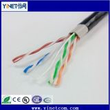 Outdoor Waterproof UTP CAT6 Cable LAN Network Cable/ CAT6 Ethernet Cable for Network Application