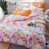 Luxury Home Textile Printed Cotton Blanket Coverr Sheet Set