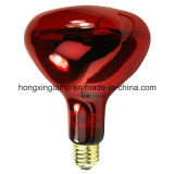 R40 Infrared Lamp Red Glass for Body Treatment