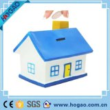 Polrresin or Resin Small House Is Blue