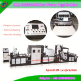 Non Woven Online Box Bag Making Machine with Creasing