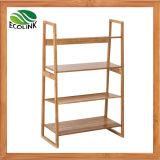 Bamboo Storage Shelf / Bamboo 4 Layers Rack