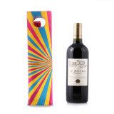 Custom Round Bottle Wine Gift Cotton Fabric Bag (CWB-2013)