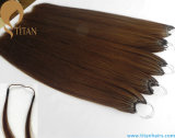 Remy Human Hair Pre Bonded Cotton String Hair Extension