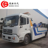 Dongfeng Road Wrecker Truck 6ton Rotator Tow Truck for Sale