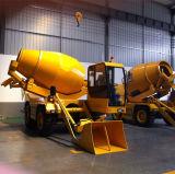 Popular Small Self-Loading Concrete Mixer and Dumper