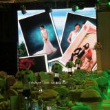 High Resolution P7.62 LED Full Color Display Screen