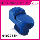 Stoneware Siphonic S-Trap Top Button Whole Sale One Piece Water Closet
