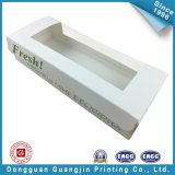 White Color Paper Food Packaging Box with Window (GJ-box143)
