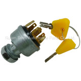 Ignition Switch for Toyata Forklift Tructor, Anti-Restart
