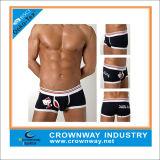 Wholesale Men's Cute Print Cotton Boxer Shorts with Custom Logo