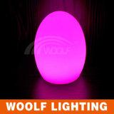 Modern Luxury LED Battery Egg Shaped Table Lamp