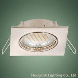 Tilt GU10 MR16 Recessed Ceiling Halogen LED Spotlight Square Downlight