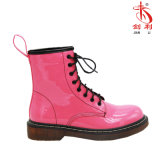 Colorful Lace-up Genuine PU Goodyear Welt Industrial Work Boot (AB633)