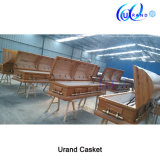 Adult Chinese Velvet Interior Wood Cheaper Oak Casket and Coffin
