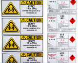Cheapest Warning Packaging Stickers (ST-022)