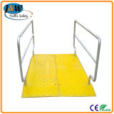 Heavy Duty Iron Barrier Steel Plastic Pedestrian Bridge