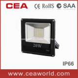 CE&RoHS Approved SMD5730 Slim LED Flood Light 20W