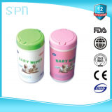 Professional Factory Made Cheap Organic Baby Wipe with Plastic Containers