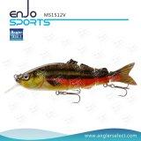 Angler Select Multi Jointed Hard Fishing Lures Salt & Fresh Water Fishing Bait Fishing Tackle (MS1512V)