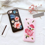 Beautiful Embroidery Flower Handmade Mobile Phone Case for iPhone