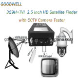 """Portable 3.5"""" Satellite Finder/ Monitor with HDMI Output"""