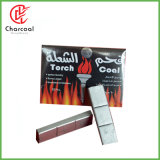 Hong Qiang Flame Coal Pure Eco Friendly Silver Charcoal for Hookah
