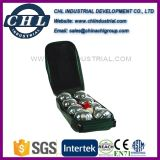 Factory Wholesale 72mm Metal Bocce Ball with Carry Case