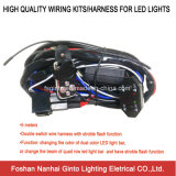 Double Switch Wire Harness with Stroble Flash Function (WK005)