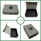 Grey Customized Logo Printing Fancy Gift Box