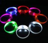 LED Light Silicon Twinkle Flashing Safety Warning Hand Belt