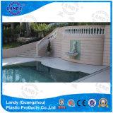 Transparent Slats Automatic Pool Covers Landy Supplier