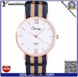 Yxl-486 OEM/ODM Watch Factory Customized Nato Nylon Watch Quartz Fashion Sport Men Watches