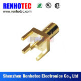 Wholesale Price Waterproof SMB Male RF Connector for PCB Board Mounting with Stand-off