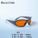 Sport Laser Safety Protection Eyewear Laser Protection Laser Eye Glasses for 2 Line YAG and KTP
