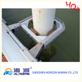 High Quality Aluminum Pile Holder for Marina/ Dock in China