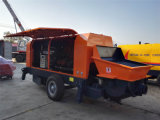 Mobile Concrete Pump with Diesel Engine