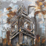3D Metal Painting for The Big Ben in London