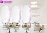 Popular High Quality Salon Mirror Barber Chair Salon Chair (P2005F)