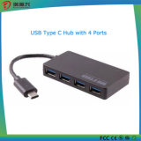 Type-C Male 4 Port USB 3.0 Hub