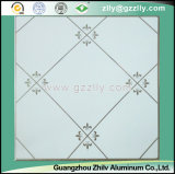 Simple and Decent Polymeric Ceiling -Diagonal Flower